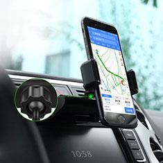 Universal Car CD Slot Mount Cell Phone Holder Stand Z01 Black