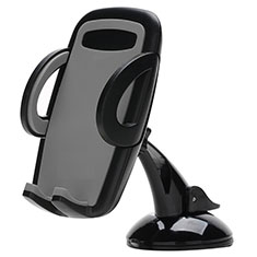 Universal Car Suction Cup Mount Cell Phone Holder Cradle H09 for Alcatel 3L Black