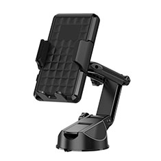 Universal Car Suction Cup Mount Cell Phone Holder Cradle H17 Black