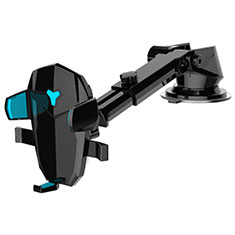 Universal Car Suction Cup Mount Cell Phone Holder Cradle H21 for Alcatel 3L Black