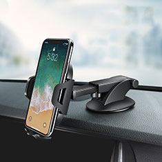 Universal Car Suction Cup Mount Cell Phone Holder Cradle Z03 for Oppo Reno4 5G Black