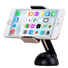 Universal Car Suction Cup Mount Cell Phone Holder Stand M13 for Apple iPhone 11 Pro Gold