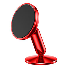 Universal Car Suction Cup Mount Magnetic Cell Phone Holder Cradle S01 for Alcatel 3L Red