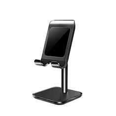 Universal Cell Phone Stand Smartphone Holder for Desk K01 for Alcatel 1S 2019 Black