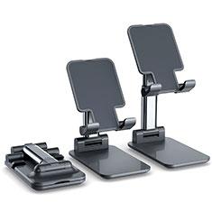 Universal Cell Phone Stand Smartphone Holder for Desk K06 for Alcatel 1S 2019 Black