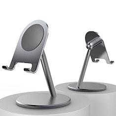 Universal Cell Phone Stand Smartphone Holder for Desk K09 for Alcatel 1S 2019 Black
