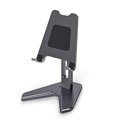 Universal Cell Phone Stand Smartphone Holder for Desk K12 for Alcatel 1S 2019 Black