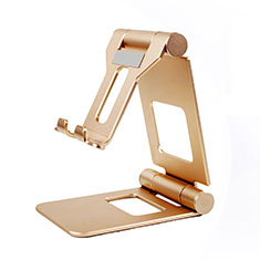 Universal Cell Phone Stand Smartphone Holder for Desk K19 Gold