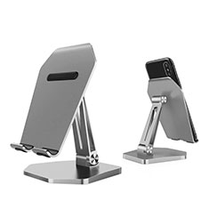 Universal Cell Phone Stand Smartphone Holder for Desk K22 Silver