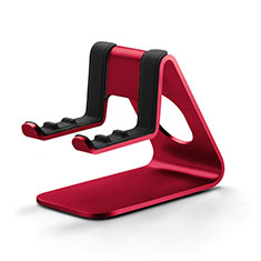 Universal Cell Phone Stand Smartphone Holder for Desk K25 Red