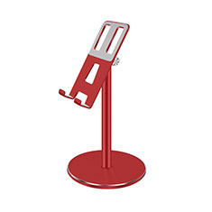 Universal Cell Phone Stand Smartphone Holder for Desk K26 Red