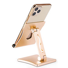 Universal Cell Phone Stand Smartphone Holder for Desk K32 Gold