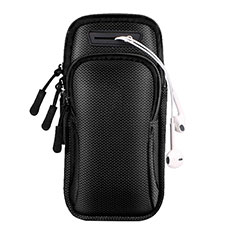 Universal Gym Sport Running Jog Arm Band Strap Case A01 Black