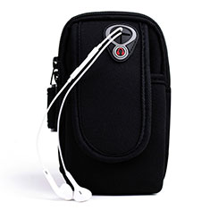 Universal Gym Sport Running Jog Arm Band Strap Case A04 Black
