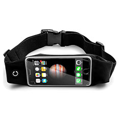 Universal Gym Sport Running Jog Belt Loop Strap Case B30 Black