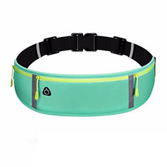 Universal Gym Sport Running Jog Belt Loop Strap Case L01 Green