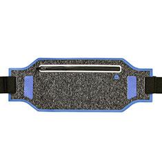 Universal Gym Sport Running Jog Belt Loop Strap Case L08 Blue