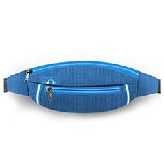 Universal Gym Sport Running Jog Belt Loop Strap Case L09 Blue