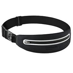 Universal Gym Sport Running Jog Belt Loop Strap Case L11 Black
