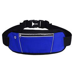 Universal Gym Sport Running Jog Belt Loop Strap Case S02 Blue