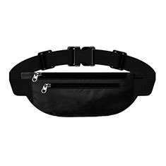 Universal Gym Sport Running Jog Belt Loop Strap Case S03 Black