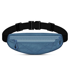 Universal Gym Sport Running Jog Belt Loop Strap Case S05 Blue