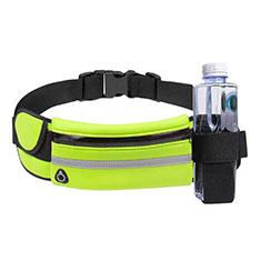 Universal Gym Sport Running Jog Belt Loop Strap Case S16 Green