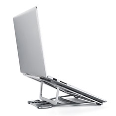 Universal Laptop Stand Notebook Holder K03 for Apple MacBook Pro 13 inch Retina Silver
