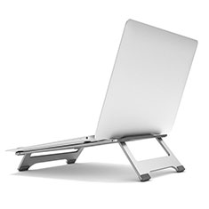 Universal Laptop Stand Notebook Holder K05 for Apple MacBook Pro 13 inch Retina Silver
