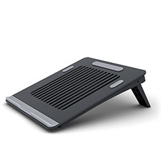 Universal Laptop Stand Notebook Holder T04 for Apple MacBook Pro 13 inch Retina Black