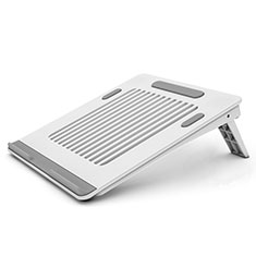 Universal Laptop Stand Notebook Holder T04 for Apple MacBook Pro 13 inch Retina White