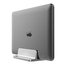 Universal Laptop Stand Notebook Holder T05 for Apple MacBook Pro 13 inch Retina Silver