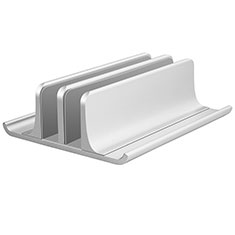 Universal Laptop Stand Notebook Holder T06 for Apple MacBook Pro 13 inch (2020) Silver