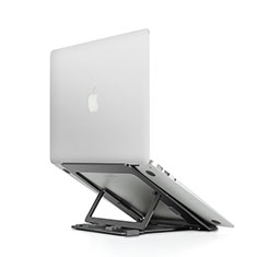 Universal Laptop Stand Notebook Holder T08 for Apple MacBook Air 11 inch Black