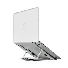 Universal Laptop Stand Notebook Holder T08 for Apple MacBook Air 13 inch Silver