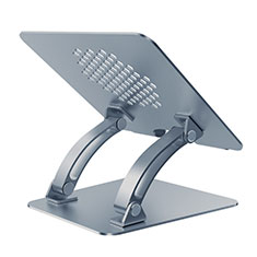 Universal Laptop Stand Notebook Holder T09 for Samsung Galaxy Book Flex 15.6 NP950QCG Gray