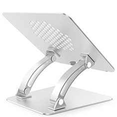 Universal Laptop Stand Notebook Holder T09 for Samsung Galaxy Book Flex 15.6 NP950QCG Silver