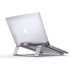 Universal Laptop Stand Notebook Holder T10 for Huawei MateBook X Pro (2020) 13.9 Silver