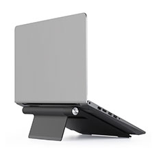 Universal Laptop Stand Notebook Holder T11 for Samsung Galaxy Book Flex 15.6 NP950QCG Black