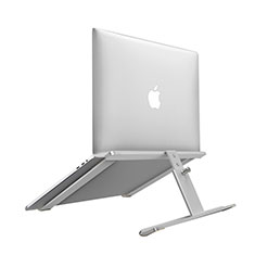 Universal Laptop Stand Notebook Holder T12 for Huawei MateBook X Pro (2020) 13.9 Silver