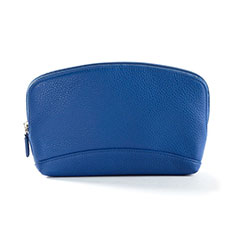 Universal Leather Wristlet Wallet Handbag Case K14 Blue