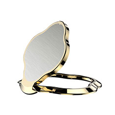 Universal Mobile Phone Magnetic Finger Ring Stand Holder H11 Gold