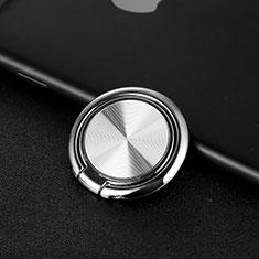 Universal Mobile Phone Magnetic Finger Ring Stand Holder Z11 Silver