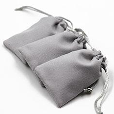 Universal Sleeve Velvet Bag Slip Cover S01 for Alcatel 3L Red
