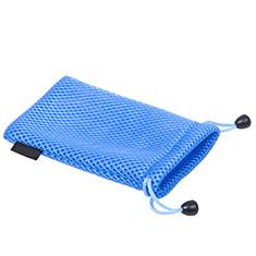 Universal Sleeve Velvet Bag Slip Cover S03 Blue