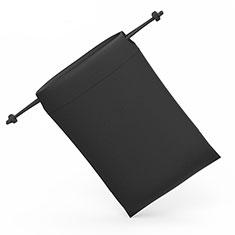 Universal Sleeve Velvet Bag Slip Pouch S04 Black