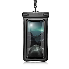 Universal Waterproof Cover Dry Bag Underwater Pouch W12 for Alcatel 3 2019 Black