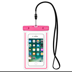 Universal Waterproof Cover Dry Bag Underwater Pouch W16 for Alcatel 3 2019 Pink