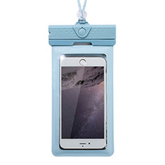 Universal Waterproof Cover Dry Bag Underwater Pouch W17 for Alcatel 3 2019 Blue