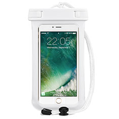 Universal Waterproof Cover Dry Bag Underwater Pouch for Alcatel 3 2019 White